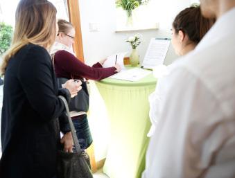 Begrüßung Gäste und Teilnehmer barCamp